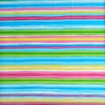 Calypso multi coloured stripe quilting fabric