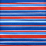 Red, white & blues uneven stripe fabric