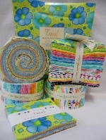 Twirl range from Moda in Jelly rolls, charm packs and layer cakes