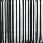 Black & White Stripes - uneven fabric